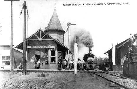 Union Station Addison Jct. MI